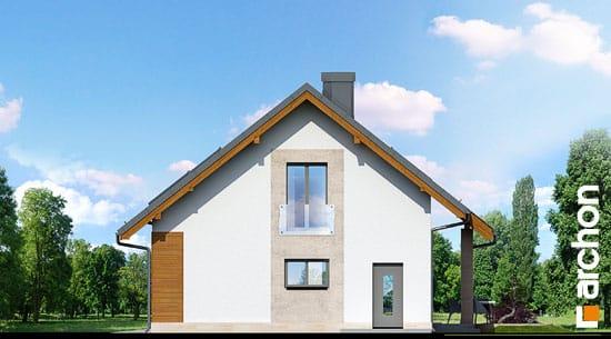 Elewacja boczna projekt dom w wisteriach ver 2  265