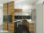 projekt Dom w wisteriach Aranżacja kuchni 1 widok 4