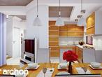 projekt Dom w wisteriach Wizualizacja kuchni 1 widok 1