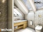 projekt Dom w wisteriach Wizualizacja łazienki (wizualizacja 1 widok 2)
