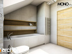 projekt Dom w wisteriach Wizualizacja łazienki (wizualizacja 1 widok 4)