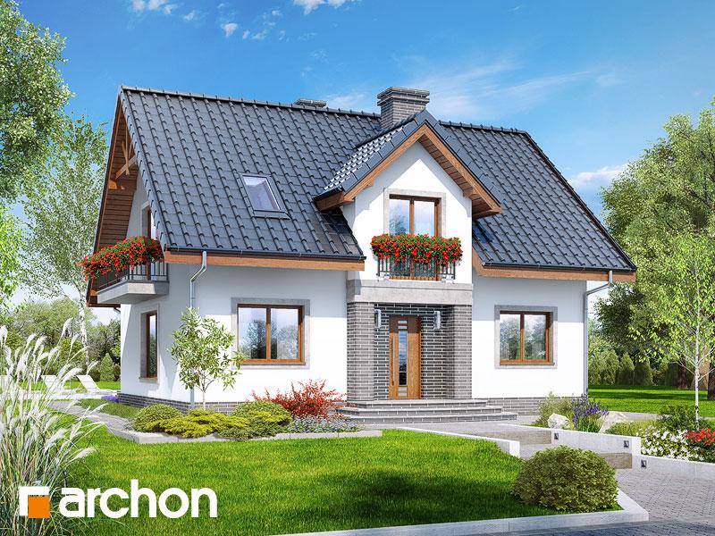 gotowy projekt Dom w lucernie 5 widok 1