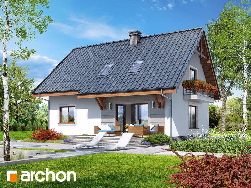 gotowy projekt Dom w lucernie 5 widok 2