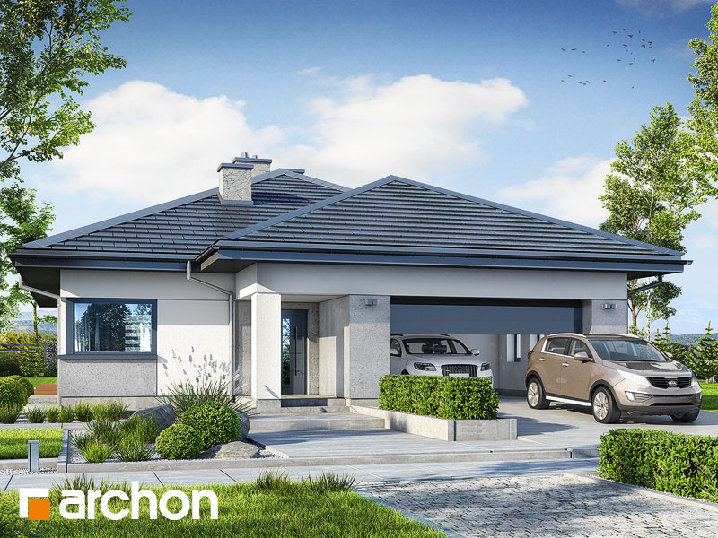 gotowy projekt Dom w jonagoldach 8 (G2) widok 1