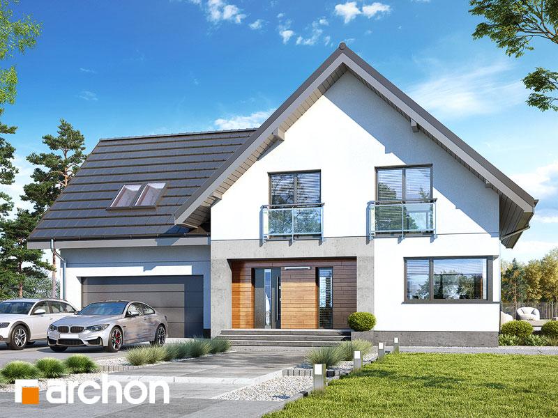gotowy projekt Dom w orliczkach 2 (G2P) widok 1
