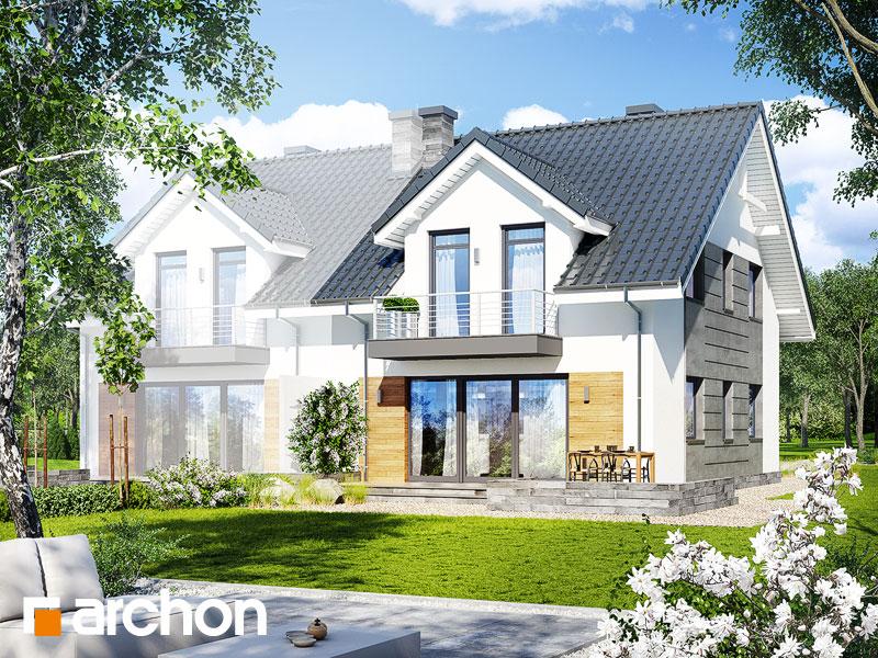gotowy projekt Dom w klematisach 6 (B) widok 1