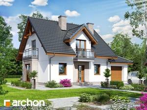 gotowy projekt Dom w rododendronach 22