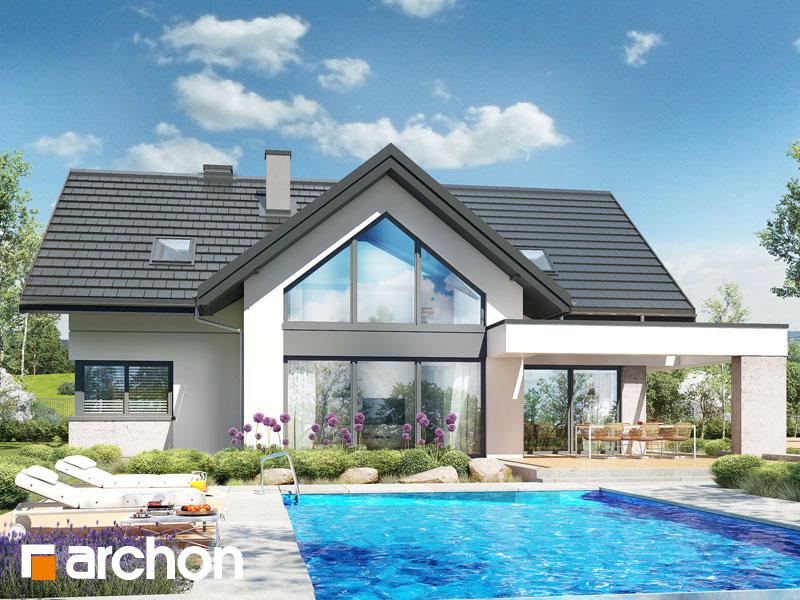gotowy projekt Dom w felicjach 2 (G2E) OZE widok 1