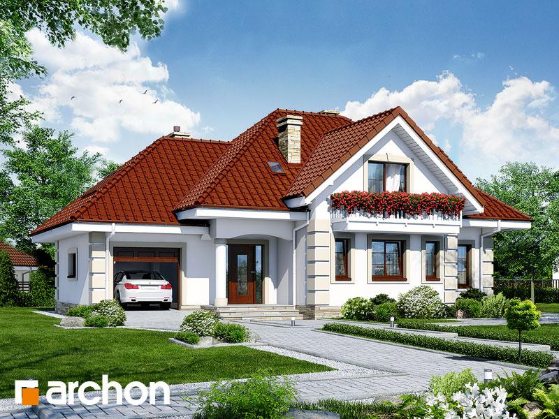 gotowy projekt Dom w lobeliach 3 widok 1