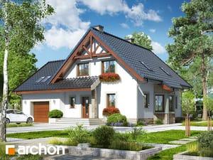 gotowy projekt Dom w tamaryszkach 8 (P)