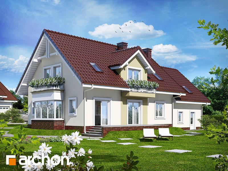 gotowy projekt Dom w kaliach 2 (G2) widok 1