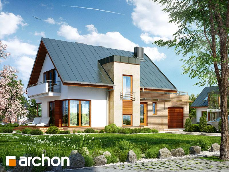 gotowy projekt Dom w amarylisach (P) widok 1