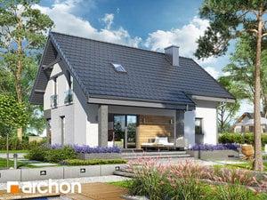 projekt Dom w cytryńcach (W) widok 2