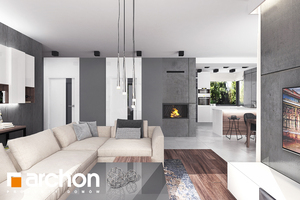 Projekt dom w srebrzykach  28595 mid