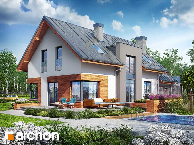 gotowy projekt Dom w moliniach (G2) widok 1