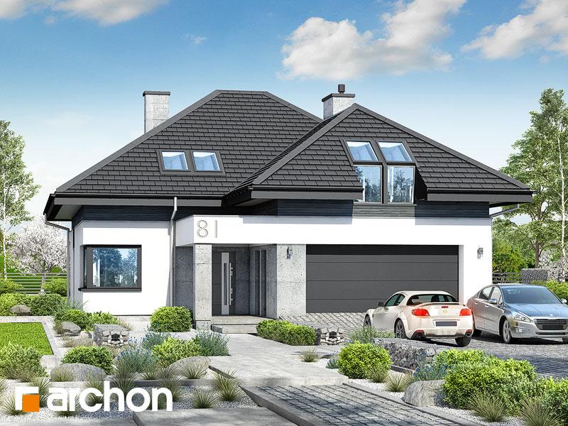 gotowy projekt Dom w ametystach (G2) widok 1
