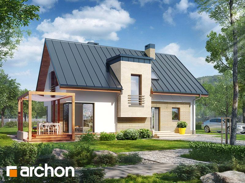 gotowy projekt Dom w amarylisach 6 widok 1