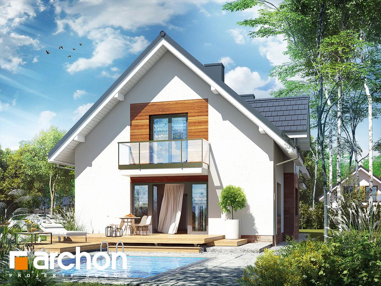 Projekt Domu Dom W Lobeliach 5 Archon