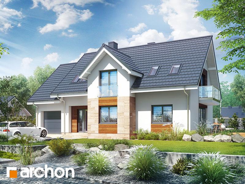 gotowy projekt Dom w lobeliach 5 widok 1