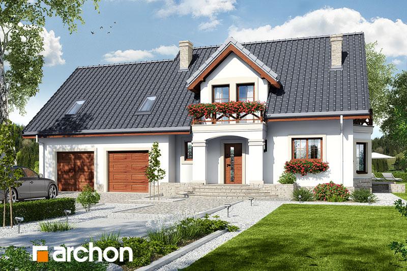 gotowy projekt Dom w tamaryszkach 9 (G2) widok 1