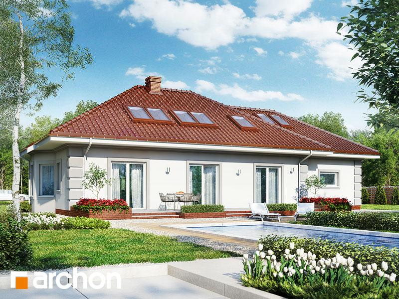 gotowy projekt Dom pod jarząbem (GPD) widok 1