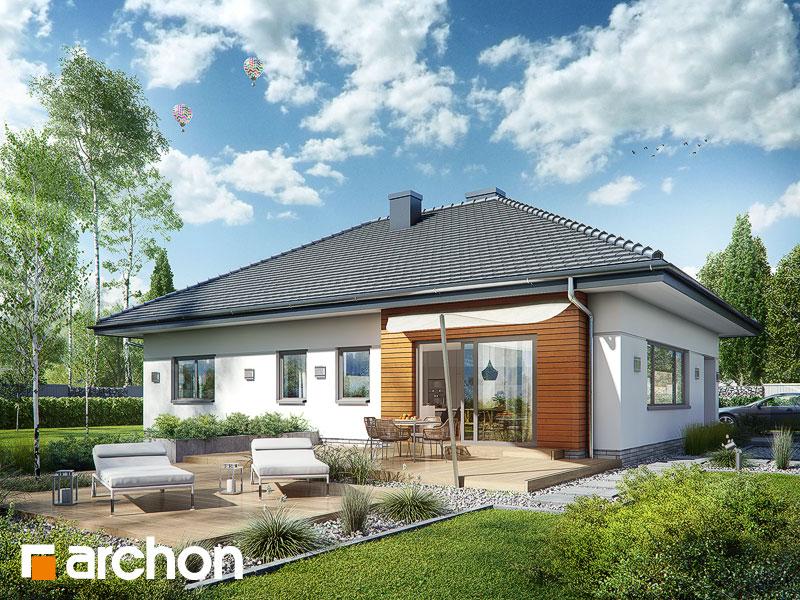 gotowy projekt Dom w lilakach 4 (G2) widok 1