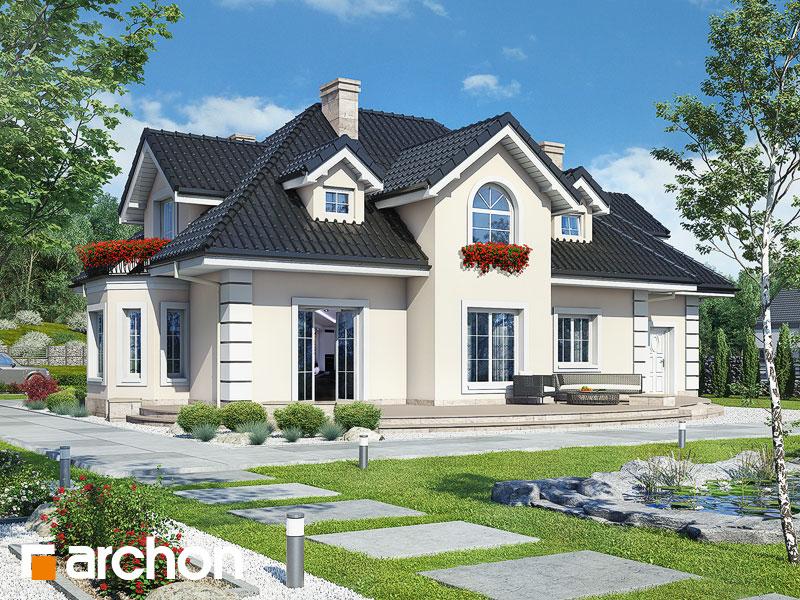 gotowy projekt Dom w wiciokrzewie (G2) widok 1