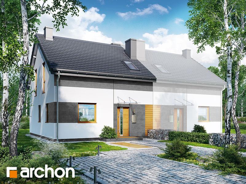 gotowy projekt Dom w arkadiach (BT) widok 2