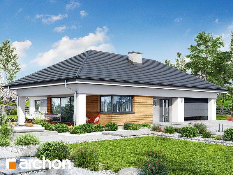 gotowy projekt Dom w słonecznikach 2 (G2) widok 1