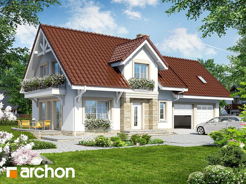 gotowy projekt Dom w lantanach (G2) widok 1