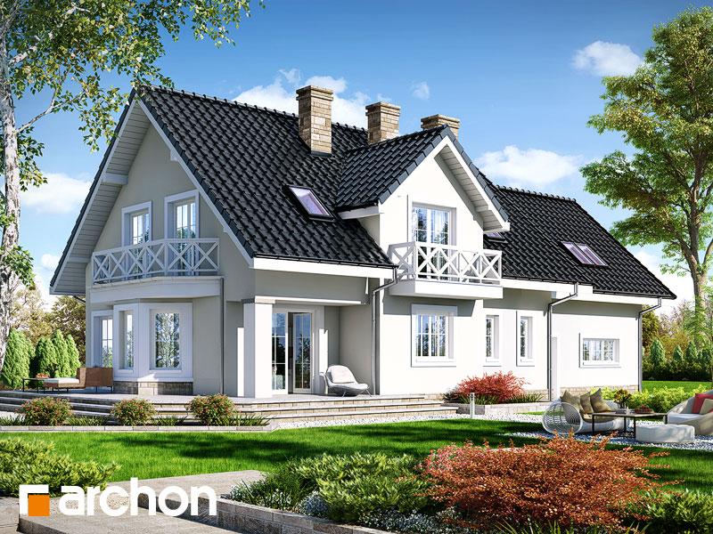 gotowy projekt Dom w lewkoniach 2 (G2) widok 1