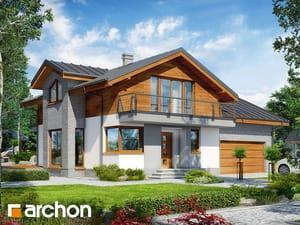 gotowy projekt Dom w budlejach 4 (G2)