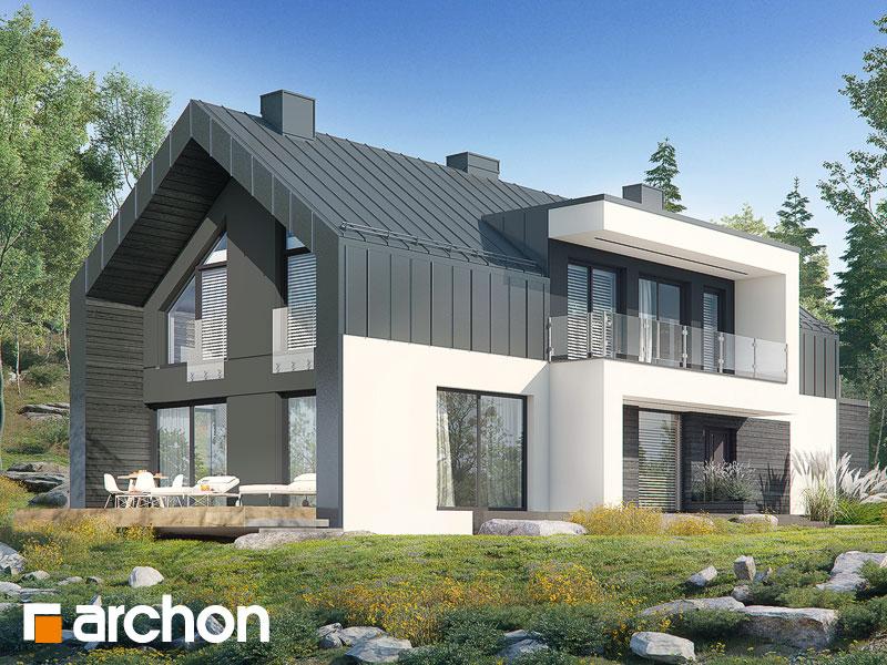gotowy projekt Dom w żeńszeniu (G2P) widok 1