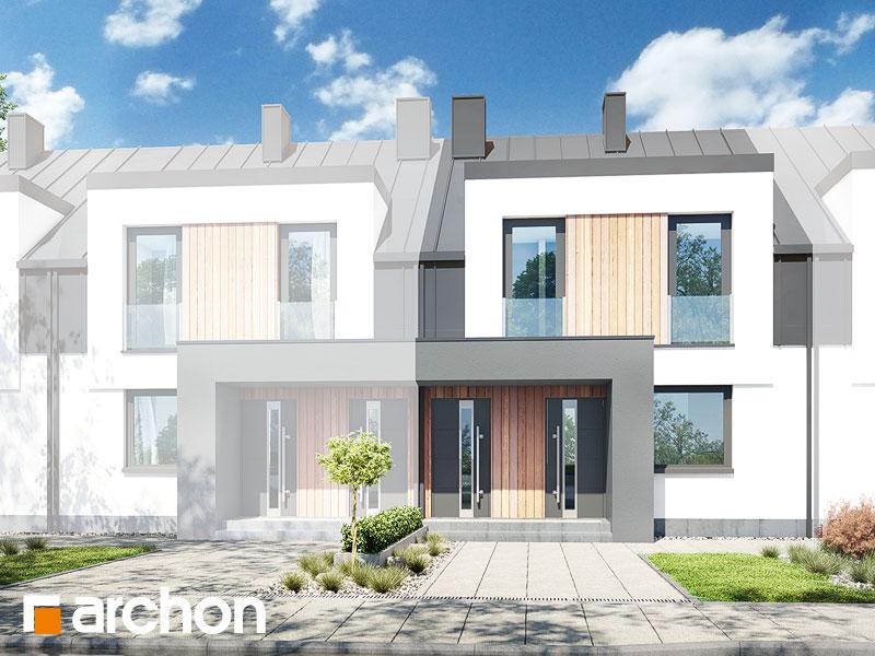 gotowy projekt Dom w bratkach 7 (R2S) widok 1