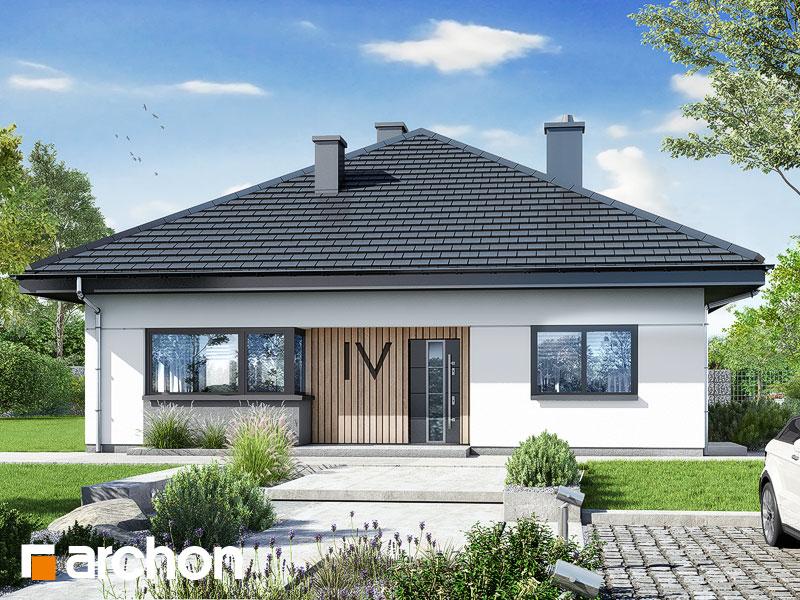 gotowy projekt Dom w cieszyniankach 7 widok 1