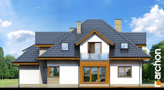 Elewacja boczna projekt dom w bergamotkach g2n ver 2  265