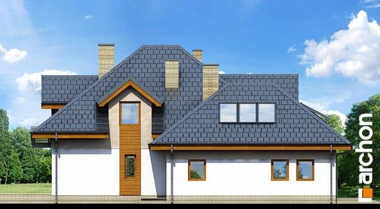 Elewacja boczna projekt dom w bergamotkach g2n ver 2  266