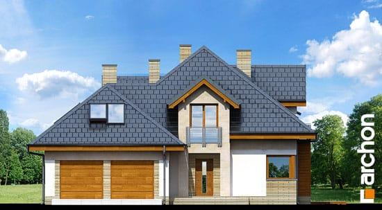 Elewacja frontowa projekt dom w bergamotkach g2n ver 2  264