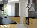 projekt Dom w bergamotkach (G2N) Aranżacja kuchni 1 widok 3