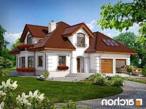 projekt Dom w bergamotkach (G2P) lustrzane odbicie 1