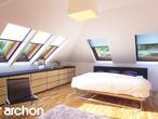 projekt Dom w bergamotkach (G2P) Strefa nocna (wizualizacja 1 widok 1)