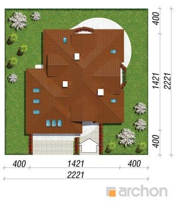 projekt Dom w bergamotkach (G2P) sytuacja