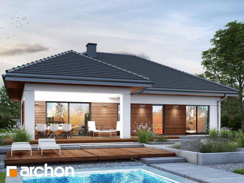 gotowy projekt Dom w żonkilach (W) widok 1