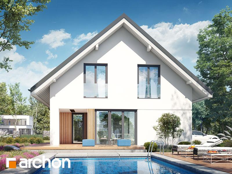 gotowy projekt Dom w zdrojówkach 11 widok 2
