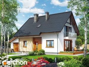gotowy projekt Dom w zielistkach (GT)