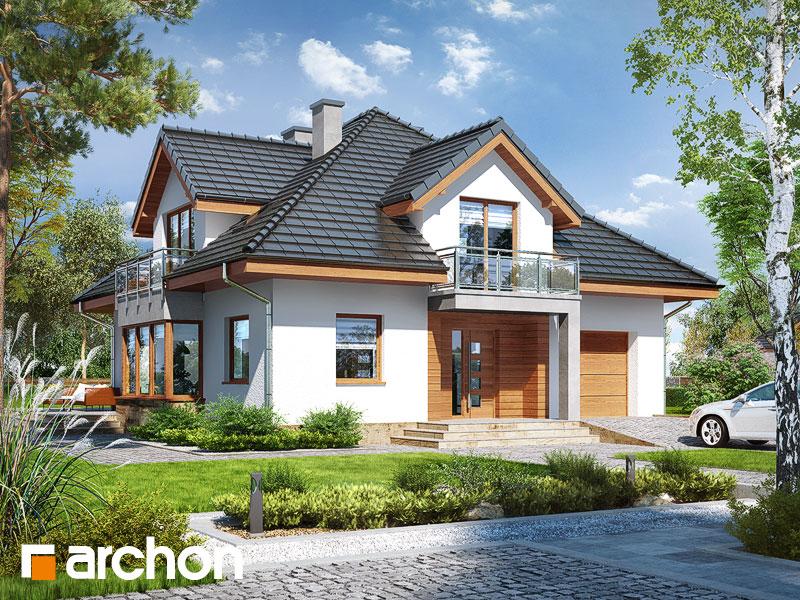 gotowy projekt Dom w tymianku 3 (N) widok 1