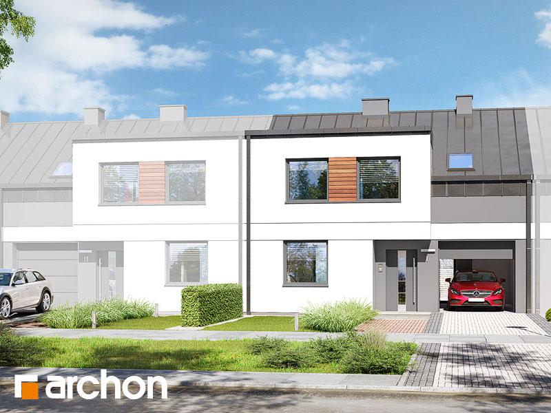 gotowy projekt Dom w bylicach 2 (S) widok 1