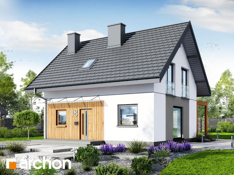 gotowy projekt Dom w zielistkach 20 widok 1