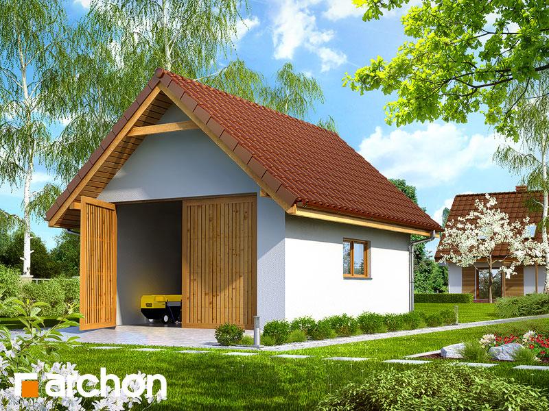gotowy projekt G10 Budynek gospodarczy widok 1