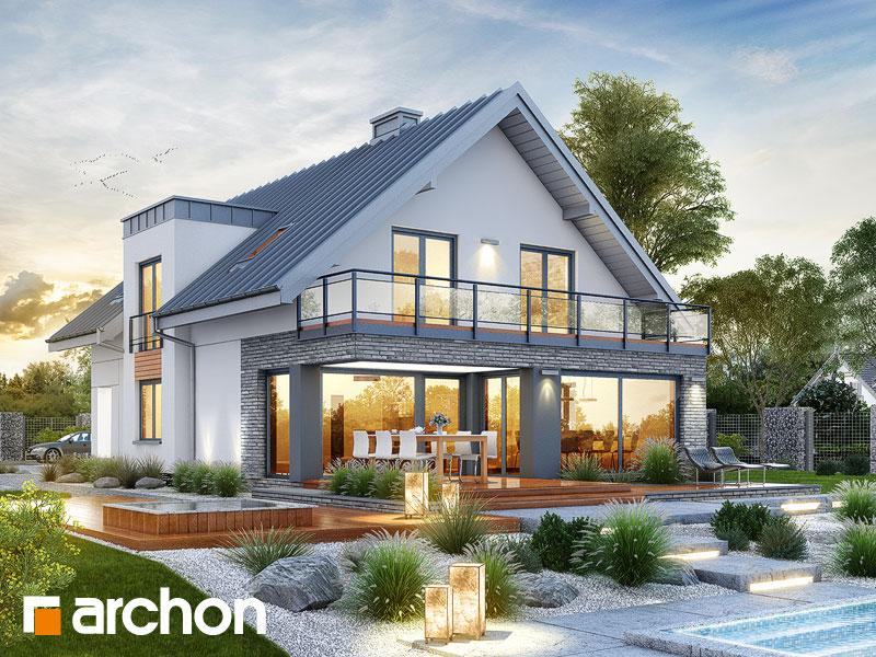 gotowy projekt Dom w czermieni (G2) widok 1